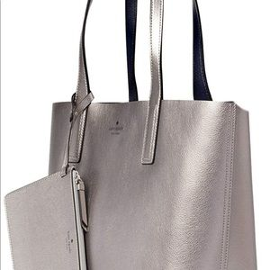 kate spade Bags - Kate Spade Arch Reversible Tote Anthracite